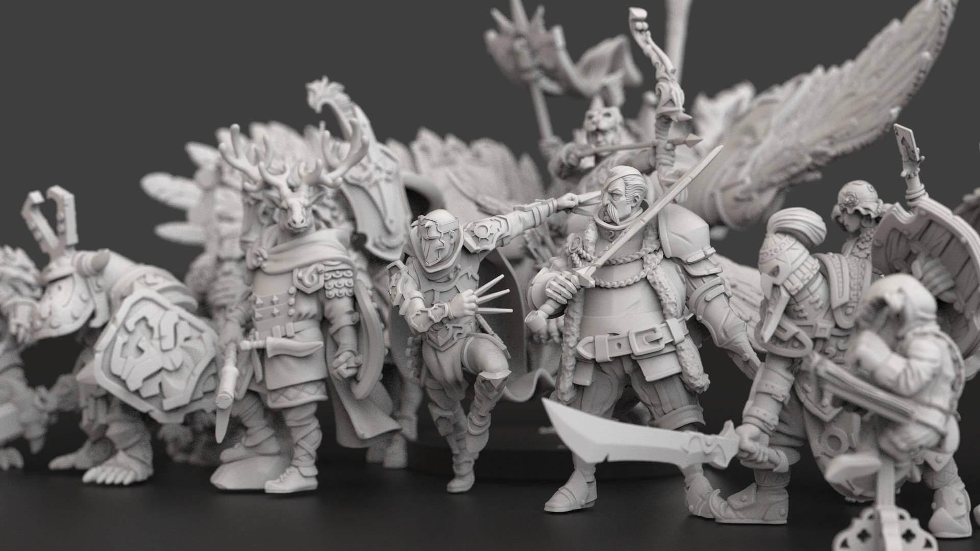 resin miniatures