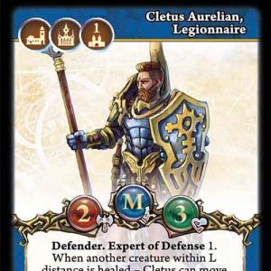 Cletus Aurelian, Legionnaire