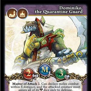 Dominiko, the Quarantine Guard