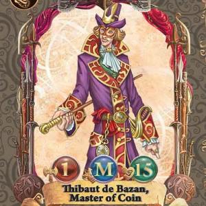 Thibaut de Bazan, Master of Coin