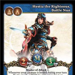 Hestia the Righteous, Battle Nun