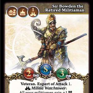 Sir Bowden the Retired Militiaman