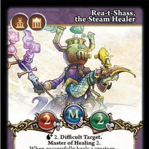 Rea-t-Shass, the Steam Healer