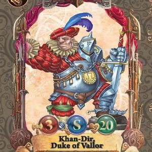 Khan-Dir, Duke of Vallor