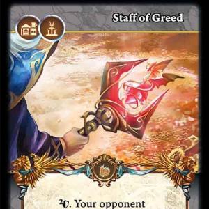 Staff of Greed