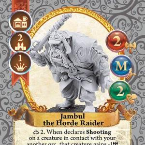 Jambul the Horde Raider
