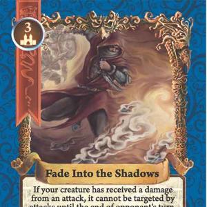 Fade Into the Shadows