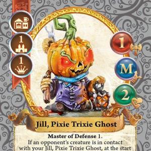 Jill, Pixie Trixie Ghost