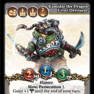 Kamidar the Dragon Liver Devourer