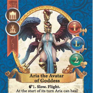 Aria the Avatar of Goddess