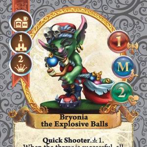 Bryonia the Explosive Balls