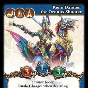Reno Damien the Oronox Shooter
