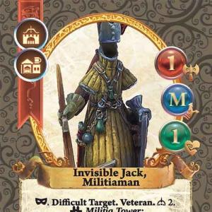 Invisible Jack, Militiaman