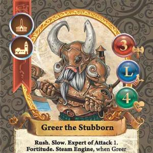 Greer the Stubborn