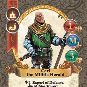 Carl, Militia Herald