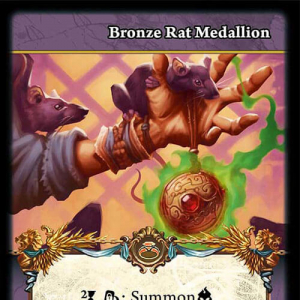 Bronze Rat Ring