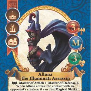 Alluna the Illuminati Assassin