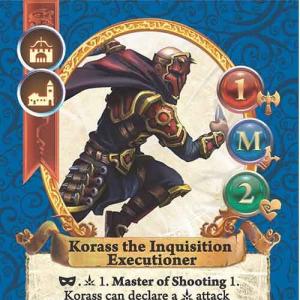 Korass the Inquisition Executioner