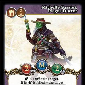 Michelle Gazzini, Plague Doctor