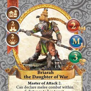 Briarah the Daughter of War