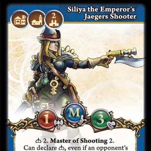 Siliya the Emperor's Jaegers Shooter