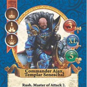 Commander Ajax, Templar Seneschal