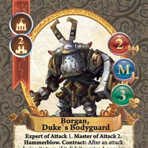 Borgan, Duke`s Bodyguard