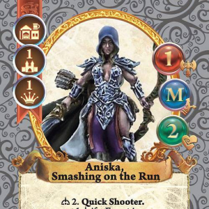 Aniska, Smashing on the Run