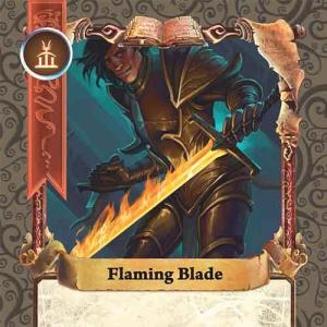 Flaming Blade