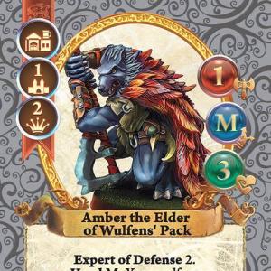Amber the Elder of Wolfens' Pack