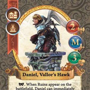 Daniel, Vallor's Hawk