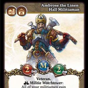 Ambrose the Linen Hall Militiaman