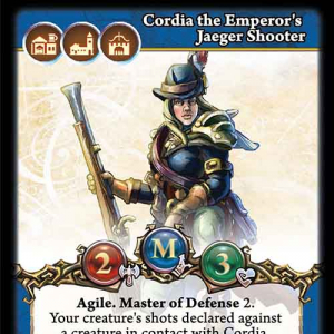 Cordia the Emperor's Jaeger Shooter