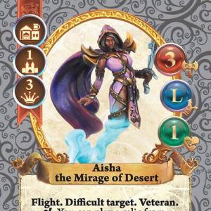 Aisha the Mirage of Desert