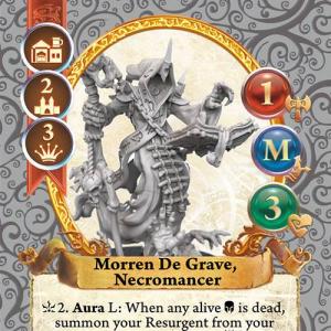 Morren De Grave, Necromancer