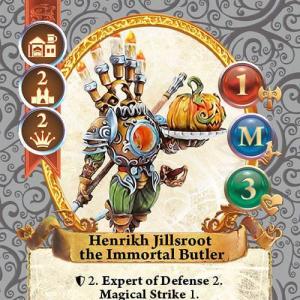 Henrikh Jillsroot the Immortal Butler