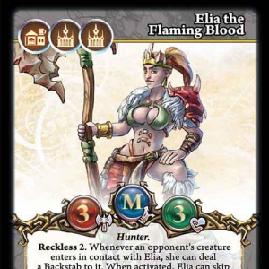 Elia the Flaming Blood