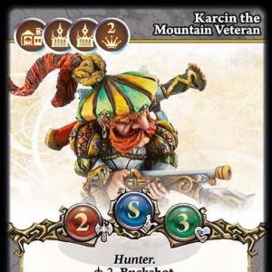 Karcin the Mountain Veteran