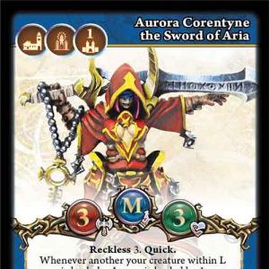 Aurora Corentyne the Sword of Aria