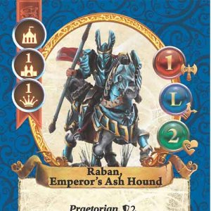 Raban, Emperor's Ash Hound