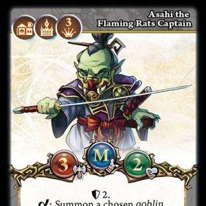 Asahi the Flaming Rats Captain