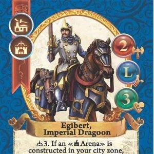 Egibert, Imperial Dragoon
