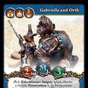 Gabriella and Orth, Inquisition Hunters