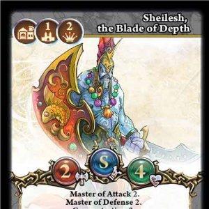 Sheilesh, the Blade of Depth