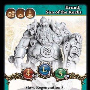 Krund, Son of the Rocks