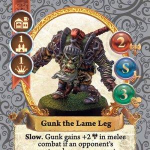 Gunk the Lame Leg