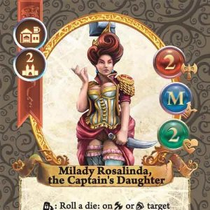 Milady Rosalinda the Captain's Daughter