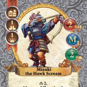 Mizuki the Hawk Scream