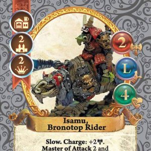 Isamu, Bronotop Rider