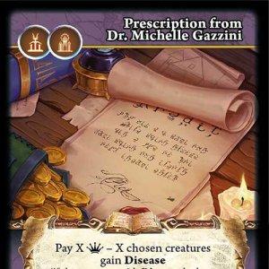 Prescription from Dr. Michelle Gazzini